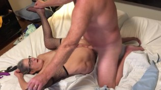 Hot Milf Gets Her Ass Fucked Hard Ends With Big Cumshot