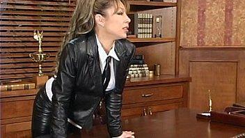 Latex Janay punish her male student