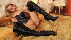 Lustful Blonde Bombshell Mistress Chloe Toy Continues On Her Quest To Dominate Your Lustful Mind With Her Alluring Fantasy