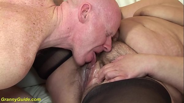 Hairy old BBW mom rough fucked