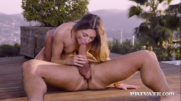 Private.com – Hot Teen Talia Mint Pussy Practices Yoga!